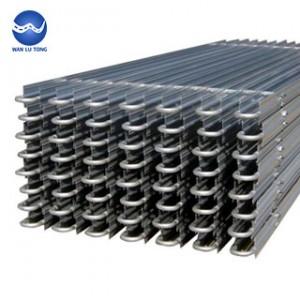 Aluminium drain pipe