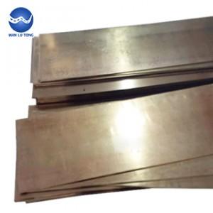 Beryllium bronze mold materia