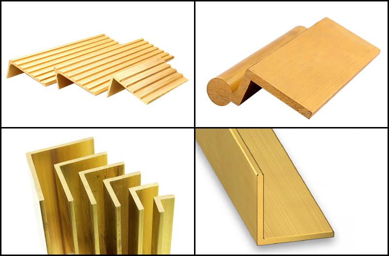 Brass-corner
