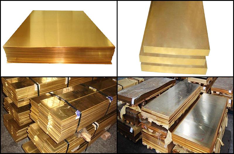 Brass-plate