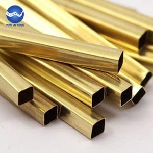 Brass square tube