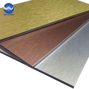 Color aluminum plate