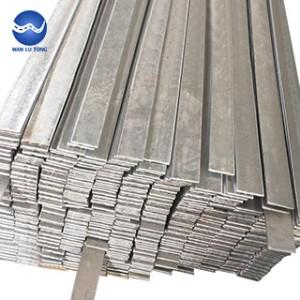 Galvanized flat steel