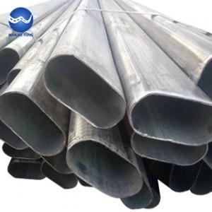 Galvanized oval tube