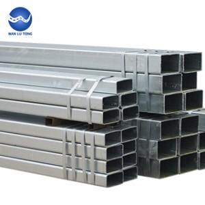 Galvanized rectangular tube