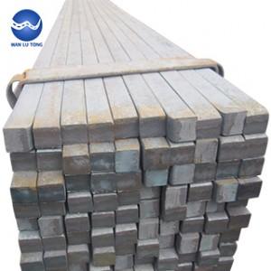 Galvanized square steel