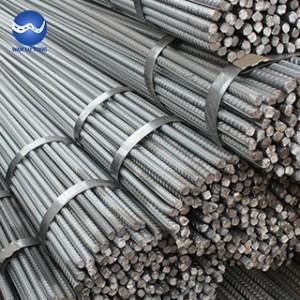 Galvanized steel rebar