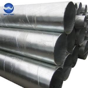 Hot dip galvanized tube