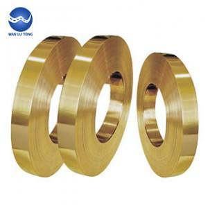 Lead brass foil