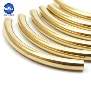 Lead brass shaped tube