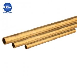 Lead brass thin wall tube