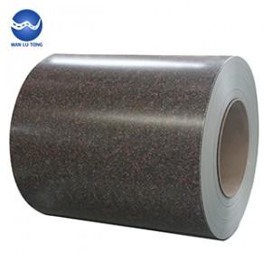 Pattern galvanized steel coil
