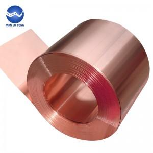 Purple copper strip