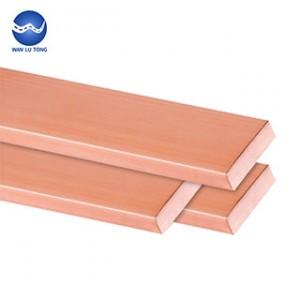 Purple copper row