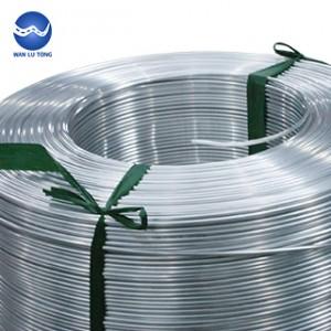 Rivet aluminum wire