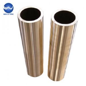 Seamless aluminum bronze tube