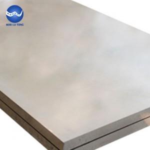 Stretch aluminum plate