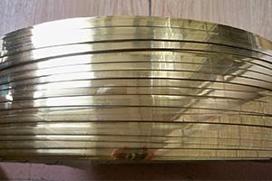 Free sample for Brass Escutcheon Plates - Brass flat wire – Wanlutong