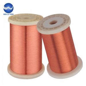 Purple copper wire